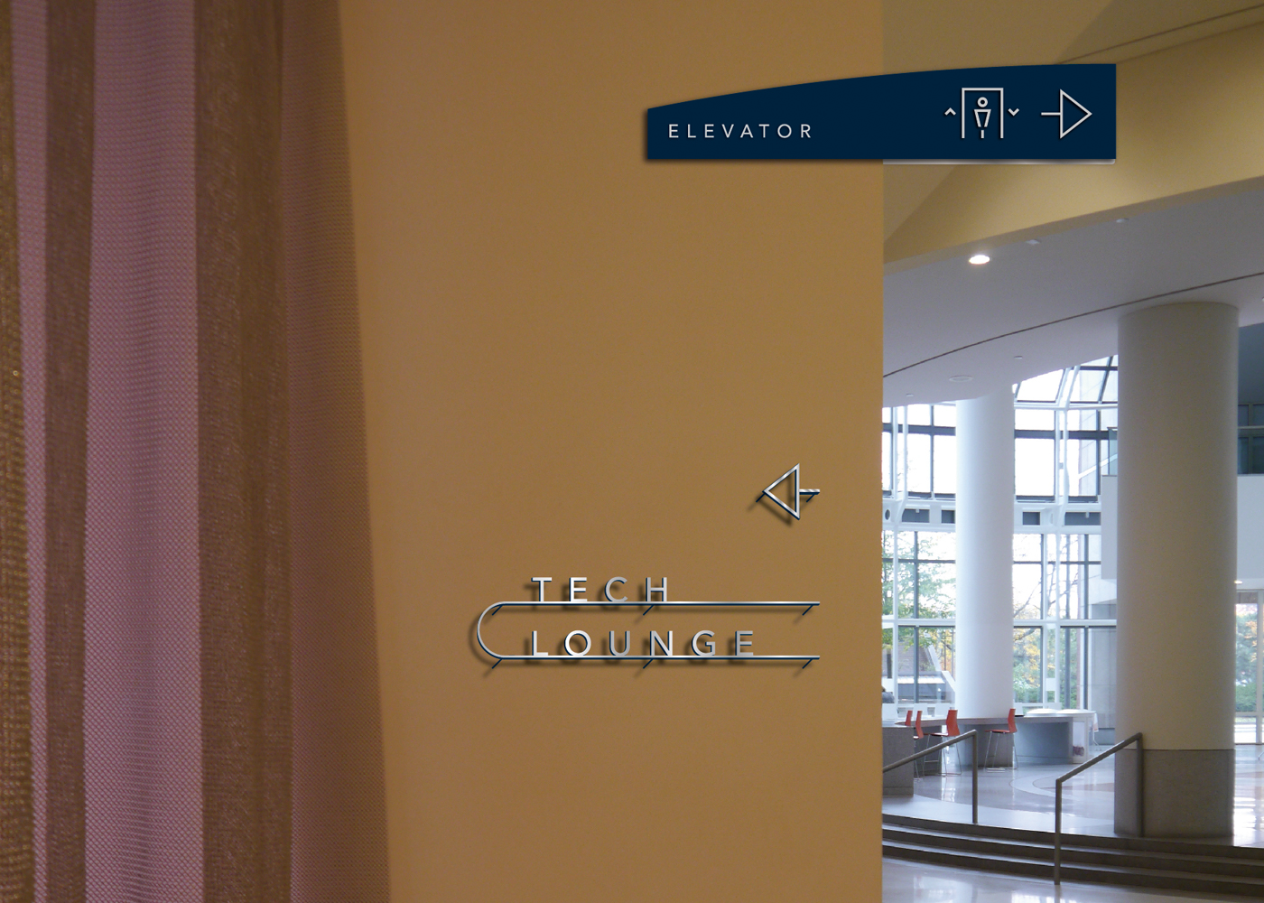 building office view interior reception signage directory htm lobby signs wall calgary door