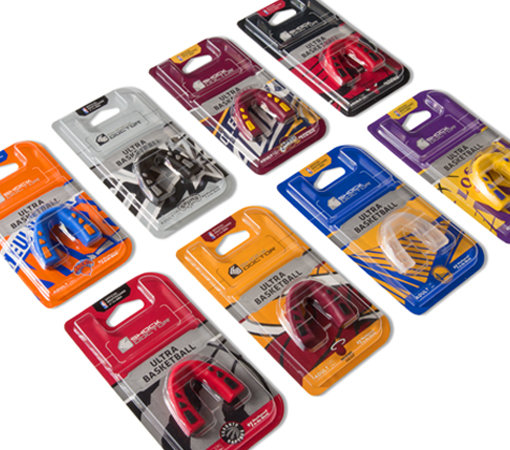 NBA Mouthguard Packaging