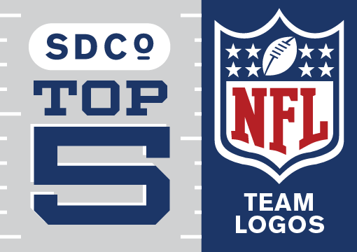 Our Top 5 NFL Team Logos