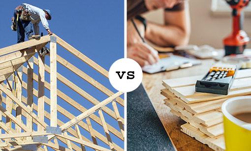 Rebuild vs. Refine