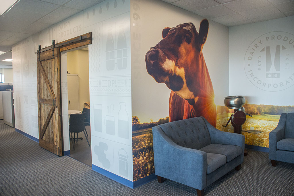 DPI's New House…and a Cow